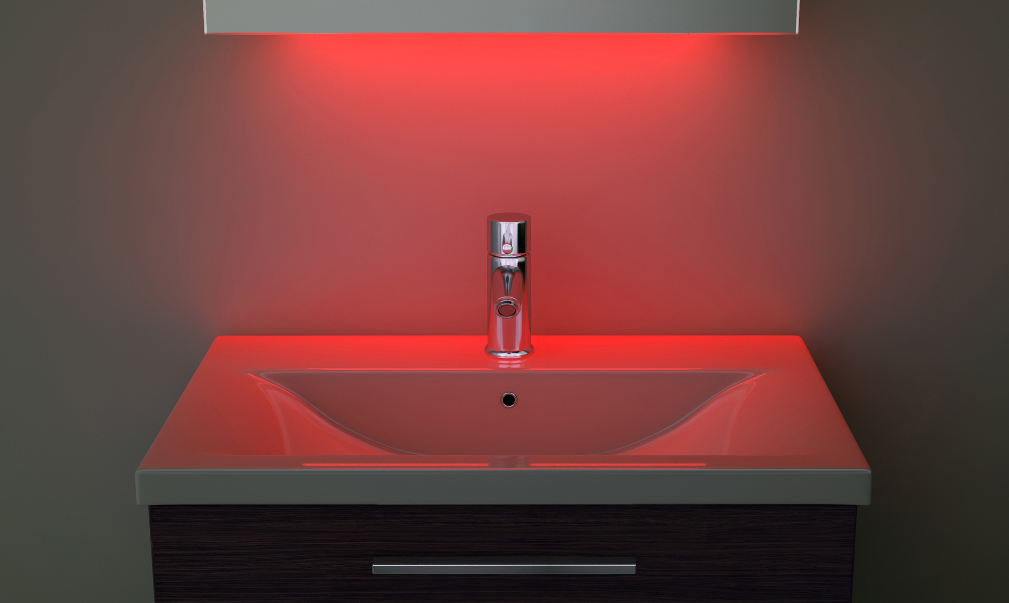 miroir toilette rasage bluetooth anti bu e capteur rasoir lumineux k161iraud ebay. Black Bedroom Furniture Sets. Home Design Ideas