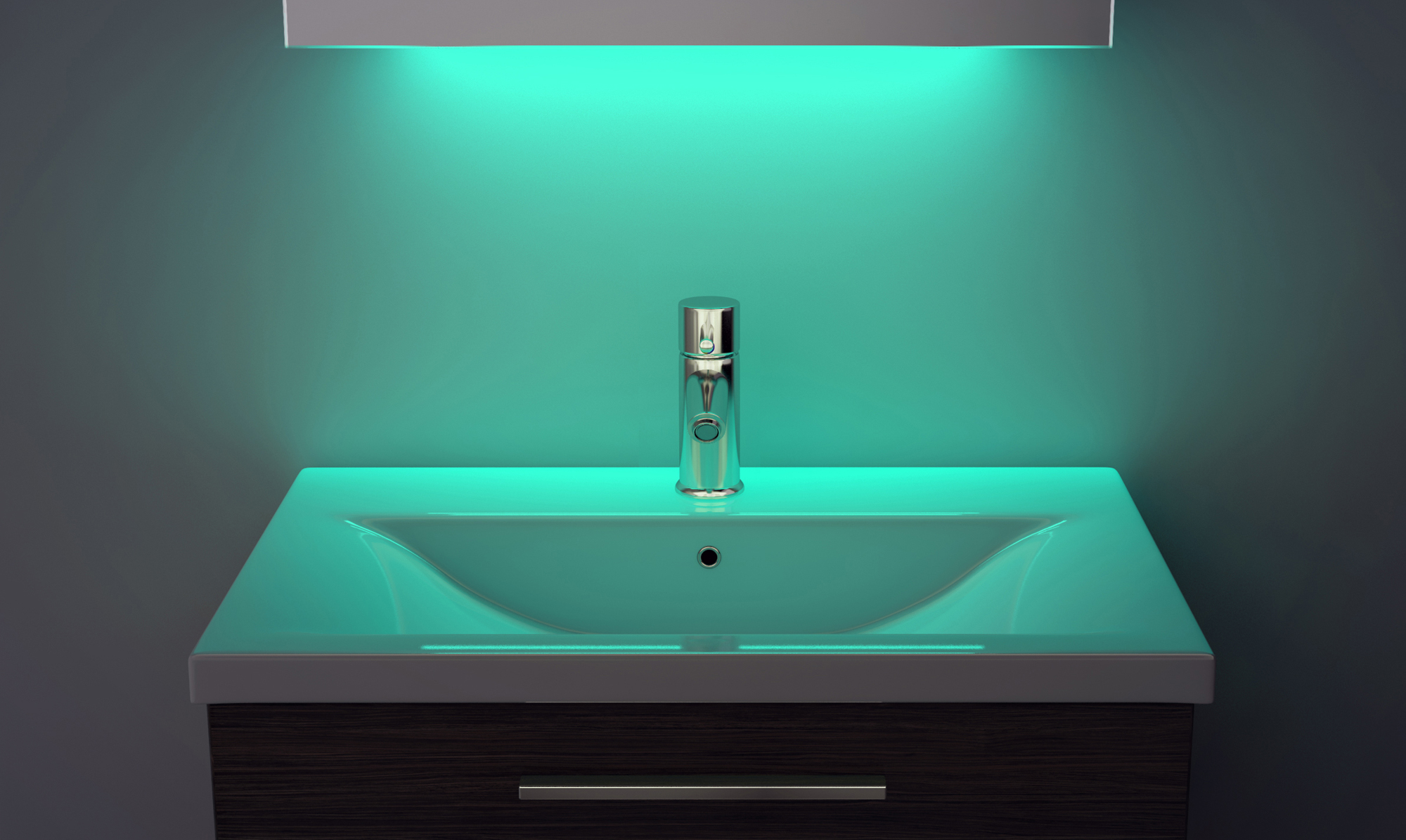 Led Bathroom Wall Cabinet On Onbuy: LED Ambient Bathroom Mirror Cabinet With Sensor & Shaver