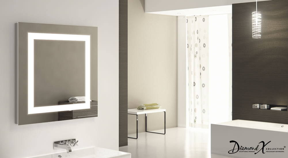 miroir toilette rasage bluetooth anti bu e capteur rasoir lumineux k161igaud ebay. Black Bedroom Furniture Sets. Home Design Ideas