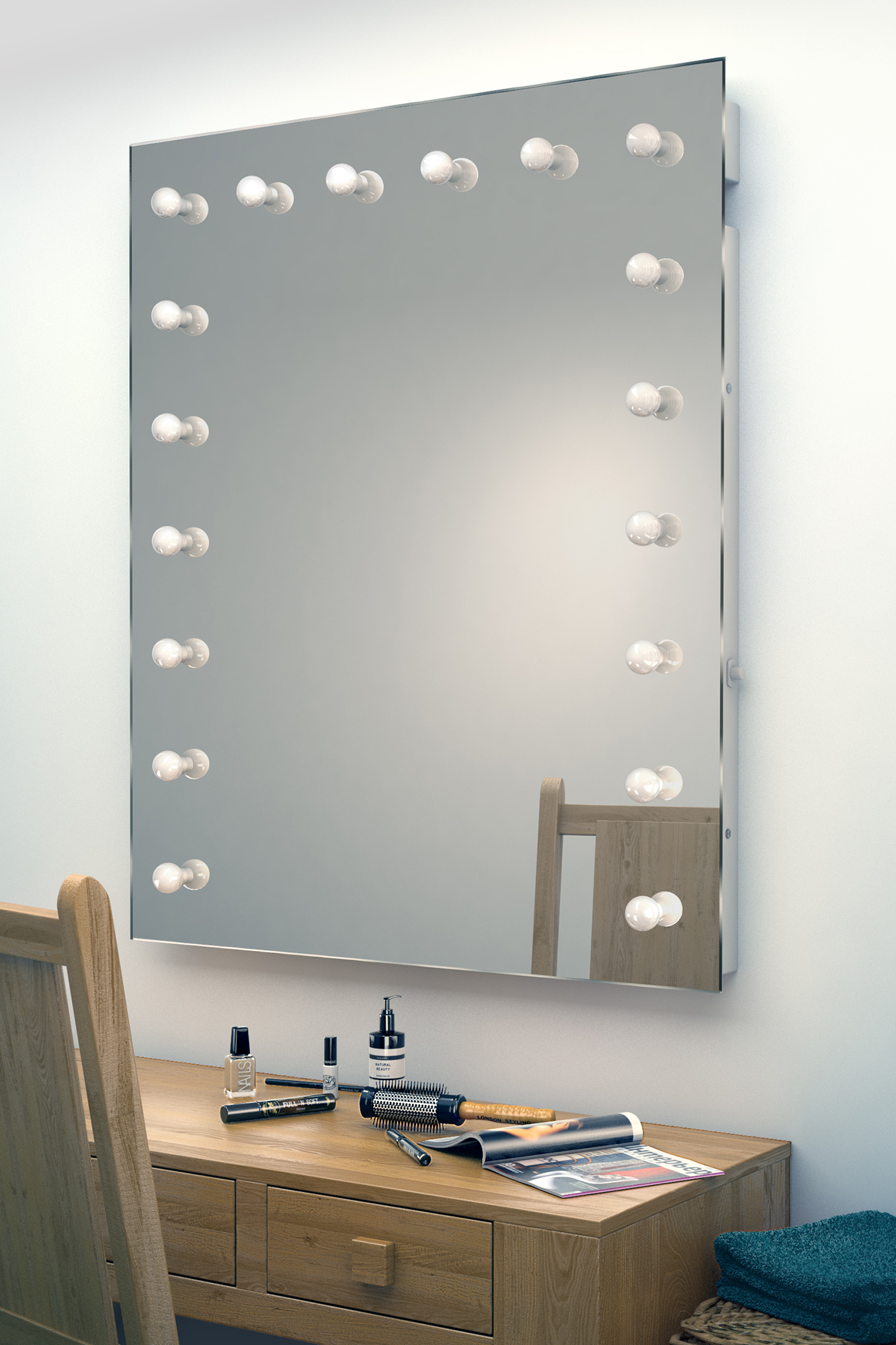 Dressing Room Mirror With Lights Cinici