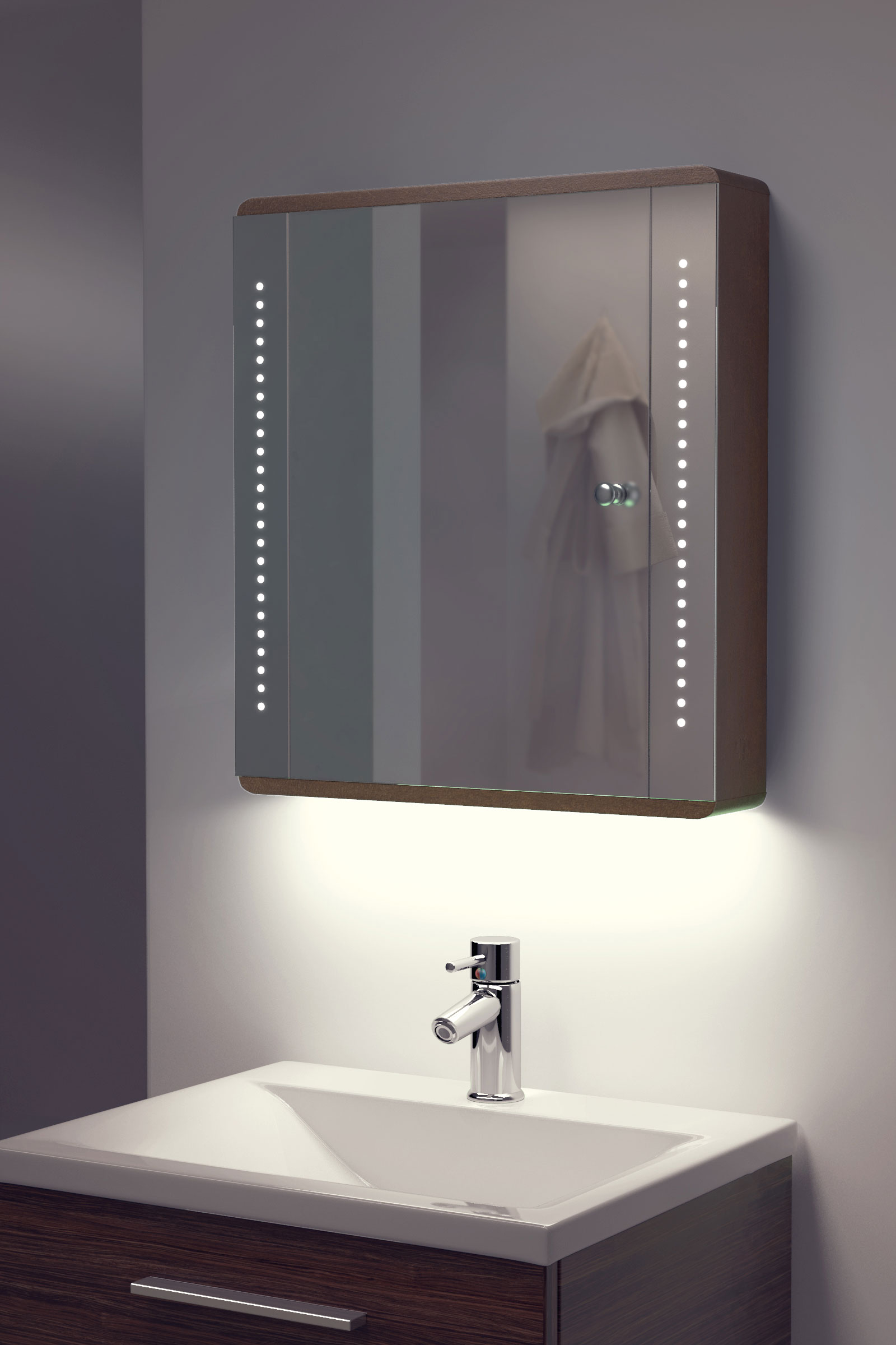 bathroom cabinet with shaver socket ambient solid oak bathroom cabinet with demister sensor 11201