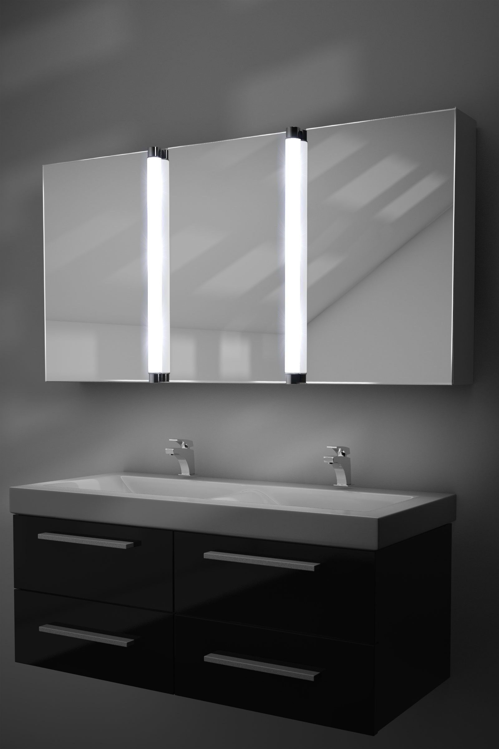 Bathroom mirror cabinets with light and shaver socket - Bathroom Mirror Cabinet With Shaver Socket And Light