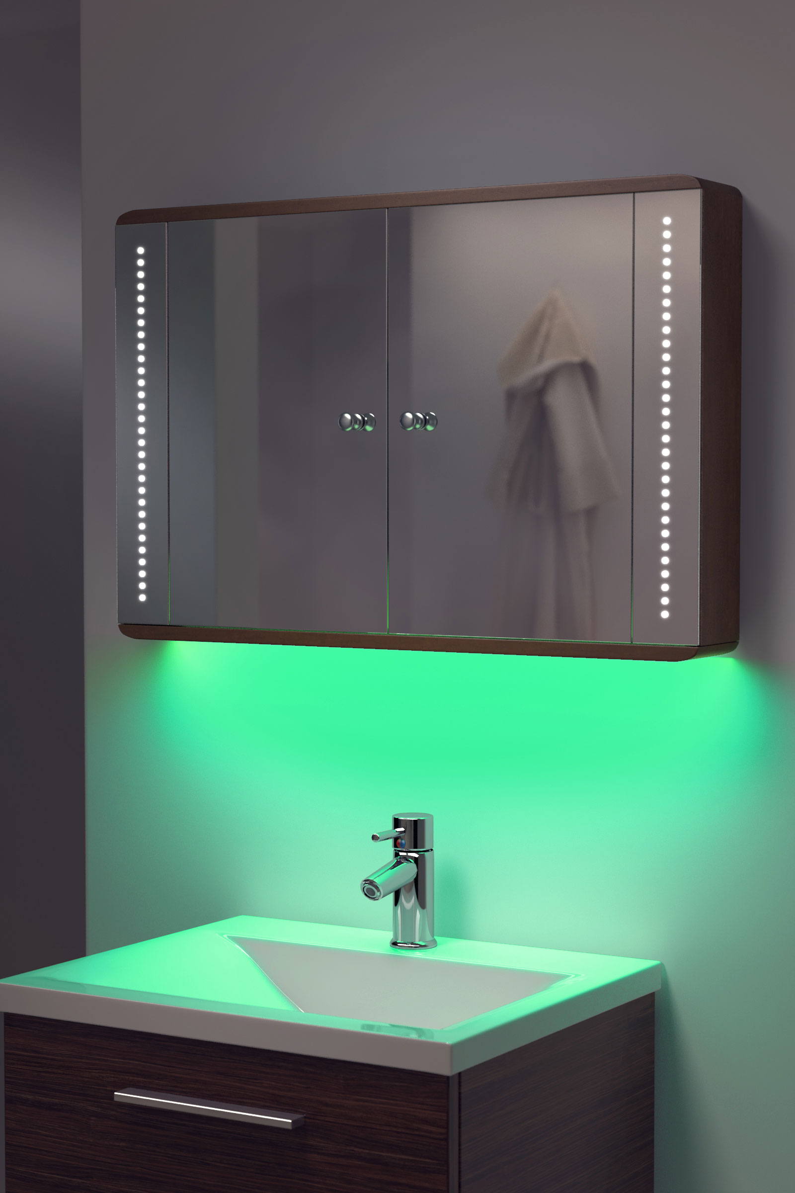 Bathroom mirror cabinets with light and shaver socket - Bathroom Cabinet Shaver Point Themayohome Com