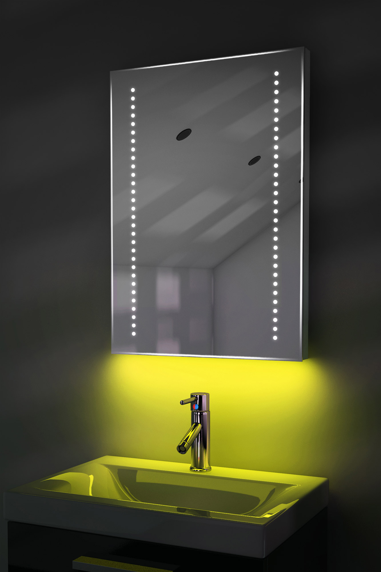 bathroom demister mirror ambient shaver led bathroom illuminated mirror with 10528