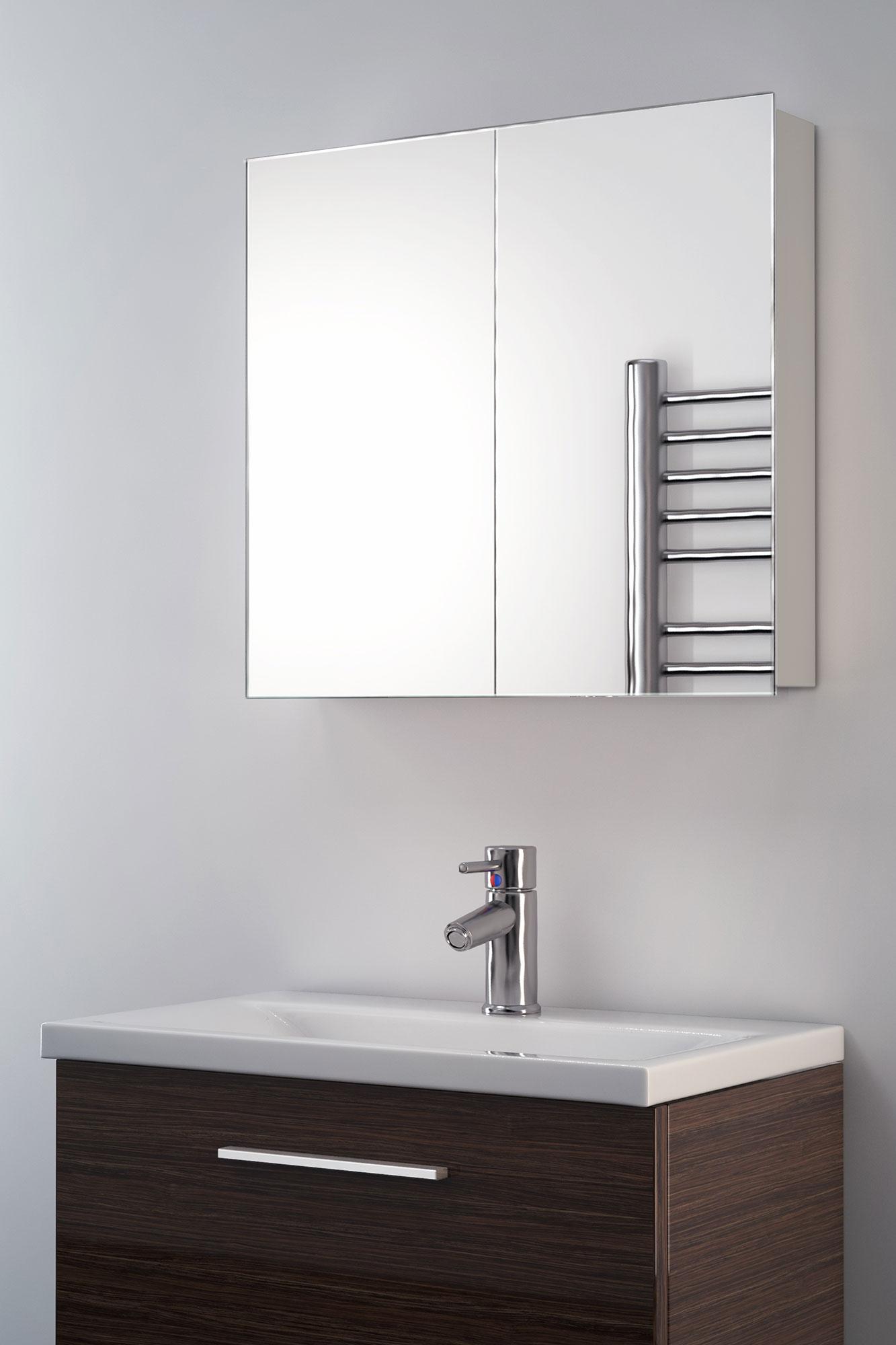 Bathroom Mirrors Illuminated: Eleanor Non-Illuminated Bathroom Mirror Cabinet K137