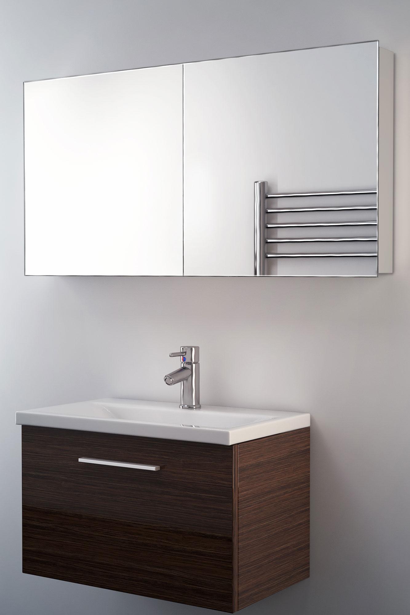 neptune non illuminated bathroom mirror cabinet k140 5055687001302 rh ebay co uk Bathroom Tower Cabinet Bathroom Mirror Cabinets with Lights