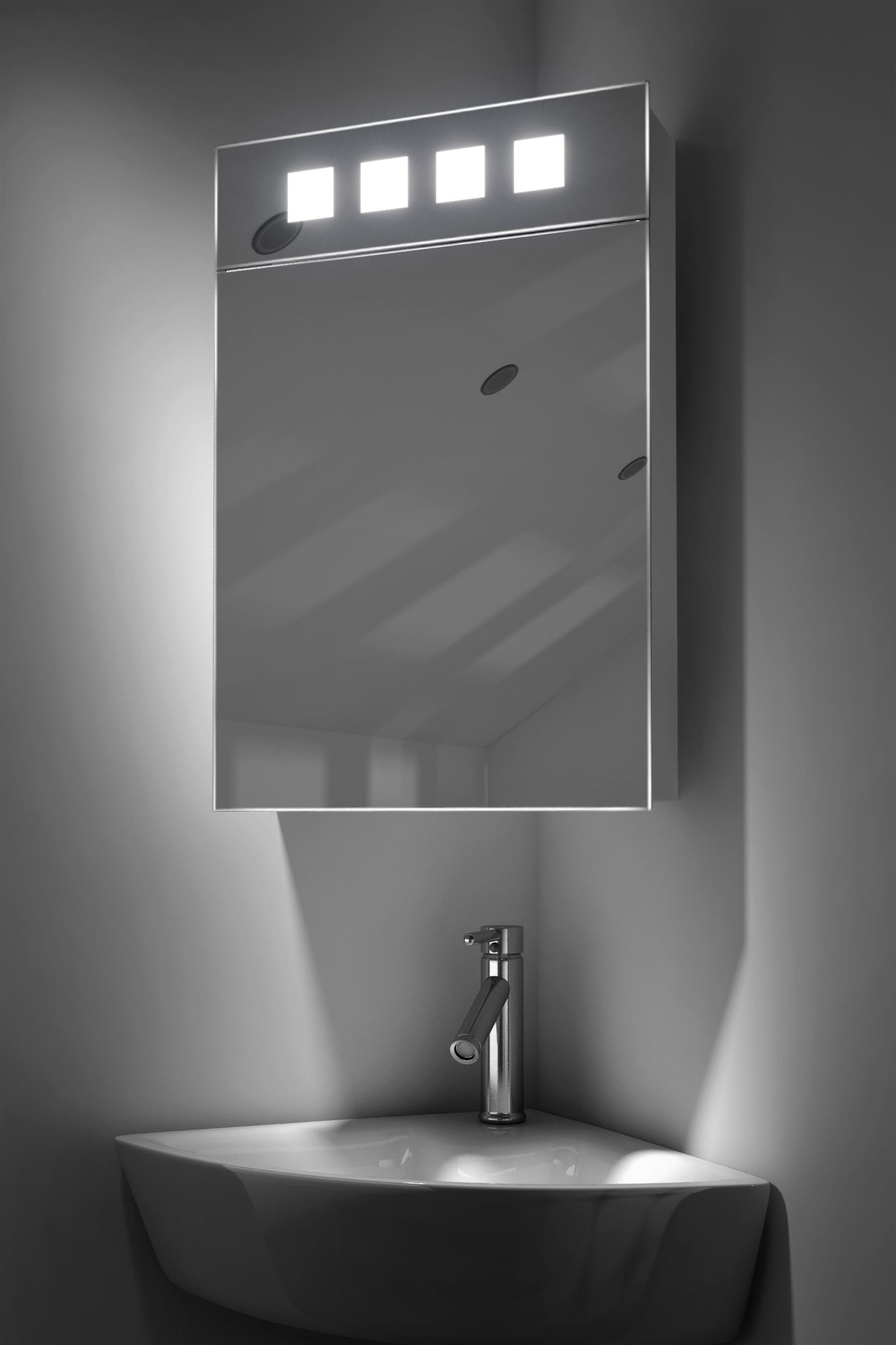 armoire de toilette d angle alita avec prise rasoir et. Black Bedroom Furniture Sets. Home Design Ideas