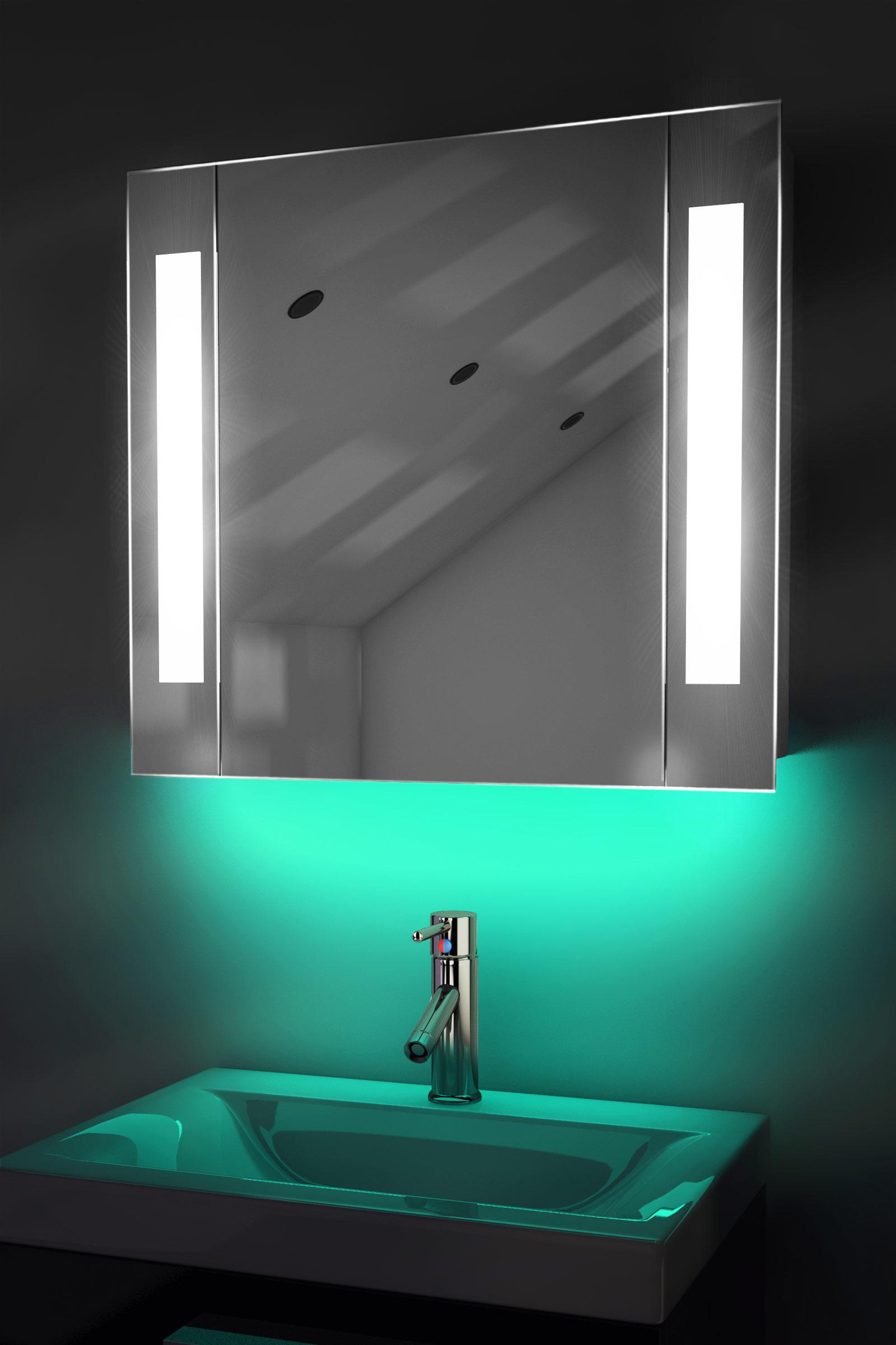 Ambient Bathroom Mirror Cabinet With Sensor Amp Internal