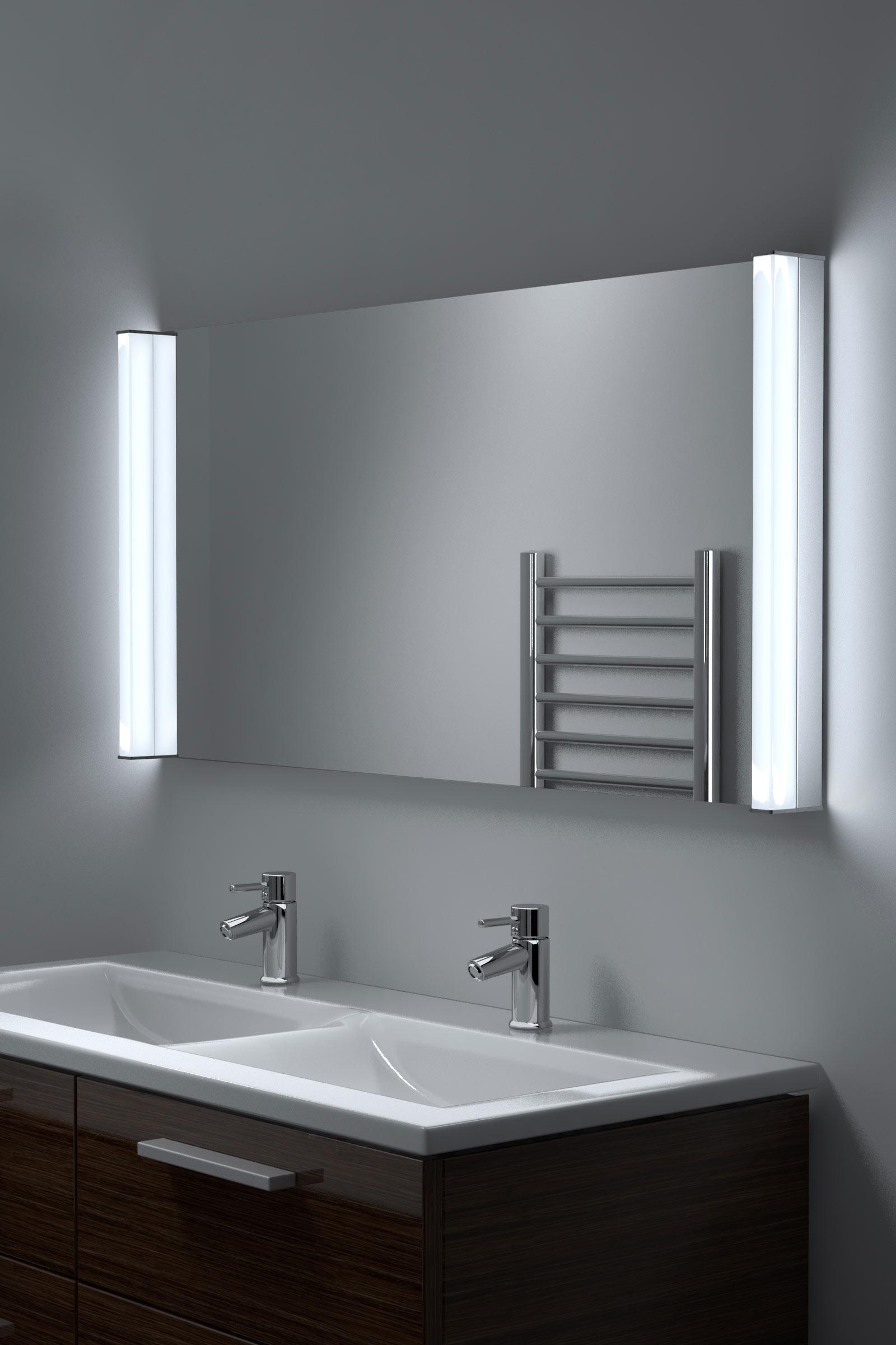 Miroir salle bain led super lumineuse avec anti bu e - Miroir salle de bain lumineux anti buee ...