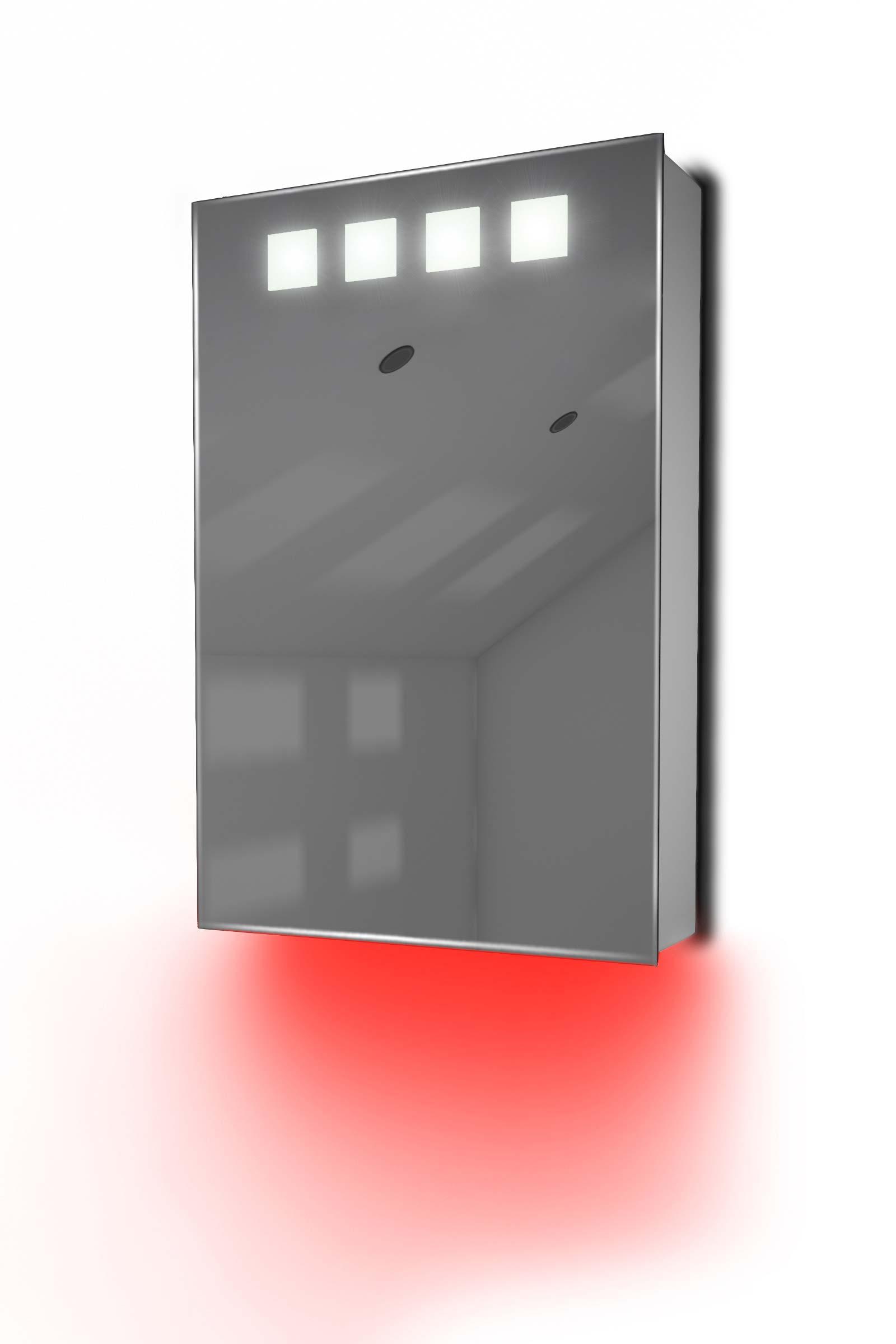armoire de toilette avec capteur et prise rasoir int rieure k254r ebay. Black Bedroom Furniture Sets. Home Design Ideas