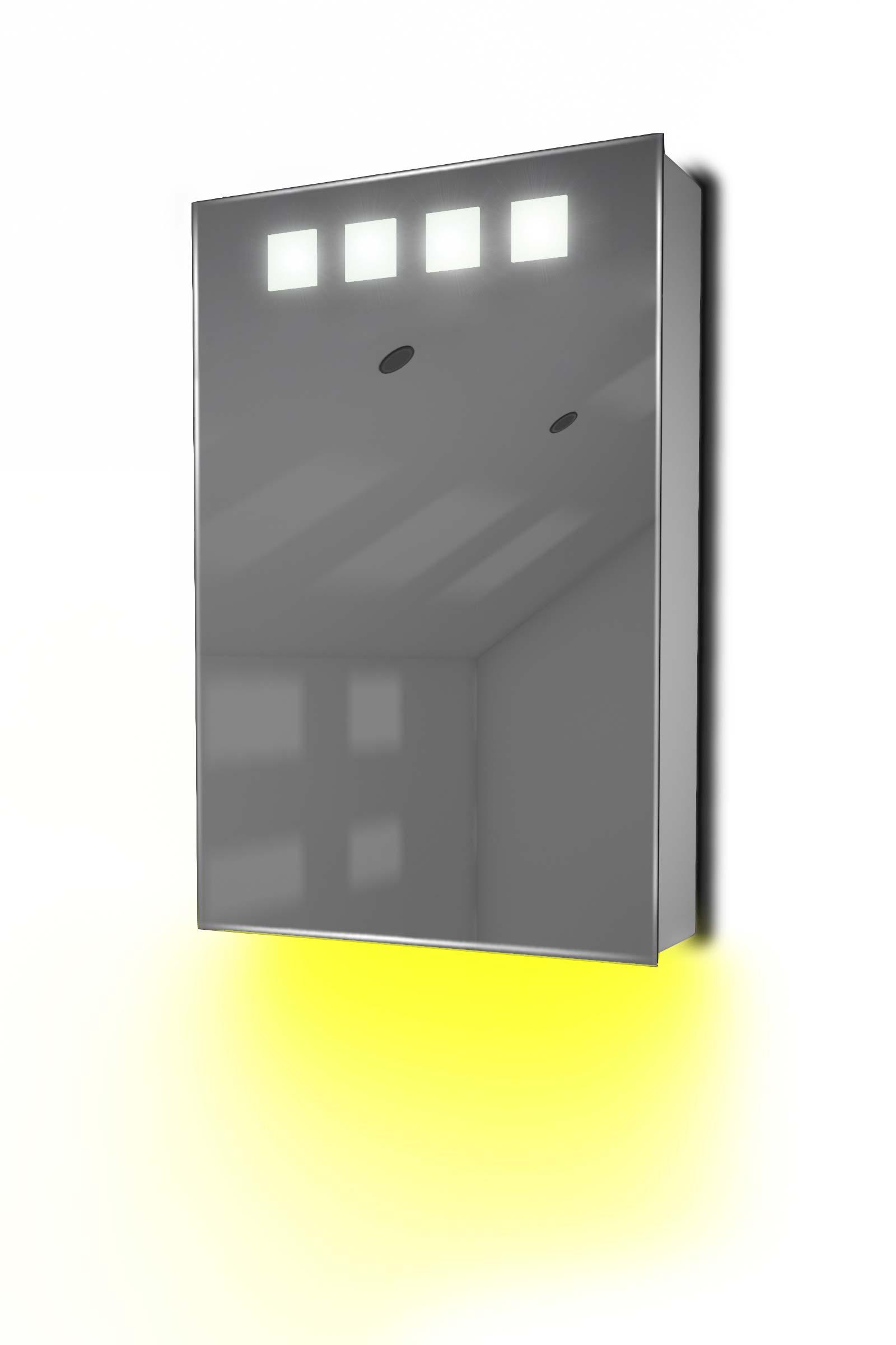 armoire de toilette avec capteur et prise rasoir int rieure k254y ebay. Black Bedroom Furniture Sets. Home Design Ideas