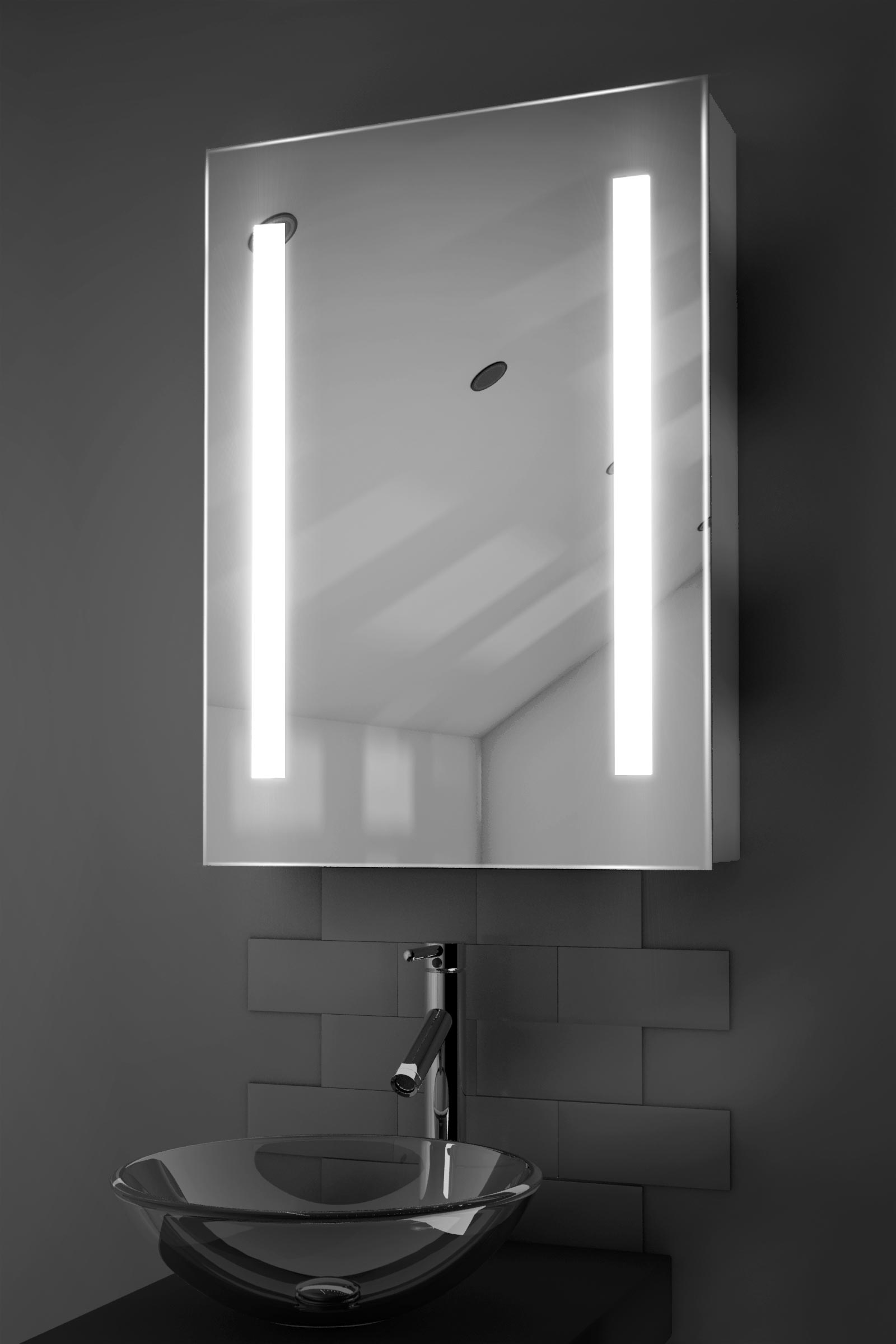 Wonderful Link Bluetooth EnabLED LED Illuminated Mirror  Bathstore