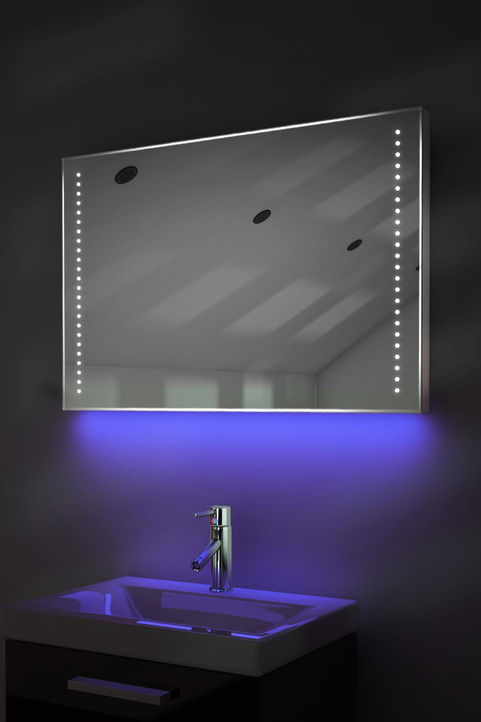 badspiegel mit bluetooth spiegelheizung sensor