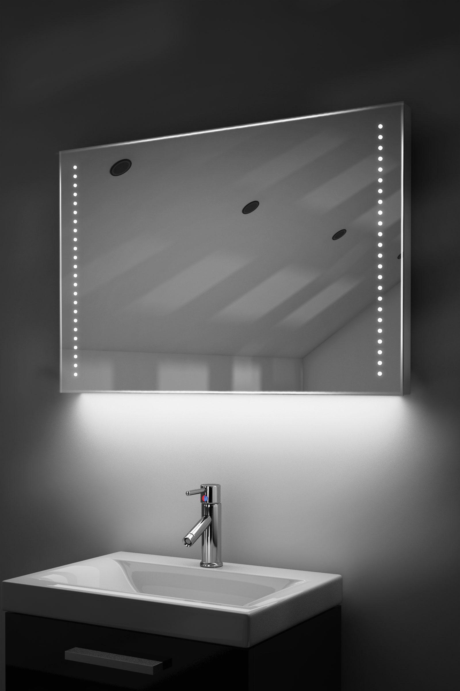 Demister Bathroom Mirrors Led Bathroom Mirror Cabinet With Shaver Socket Bathroom