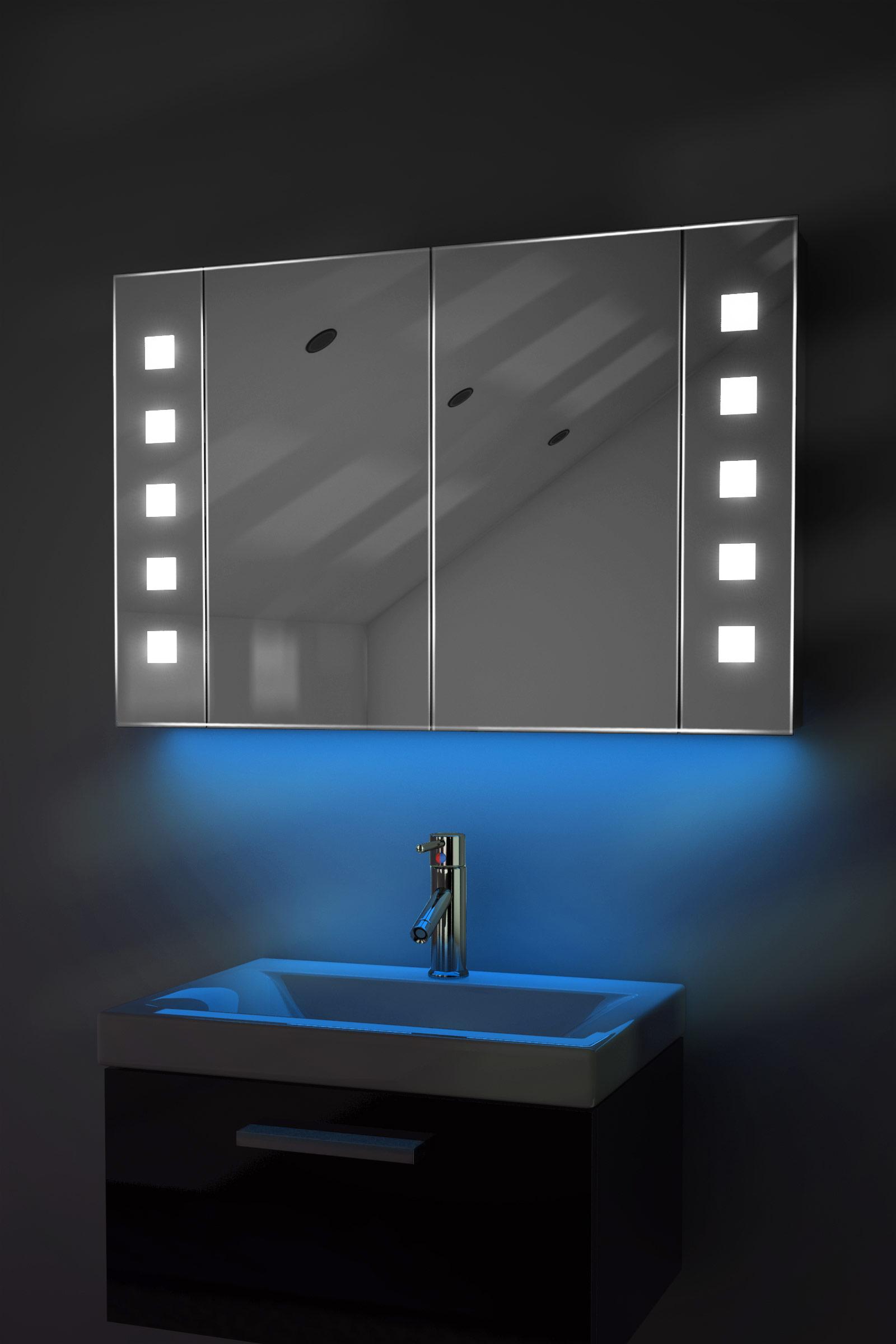 audio schrank m beschlagschutz bluetooth steckdose sensor k74baud ebay. Black Bedroom Furniture Sets. Home Design Ideas