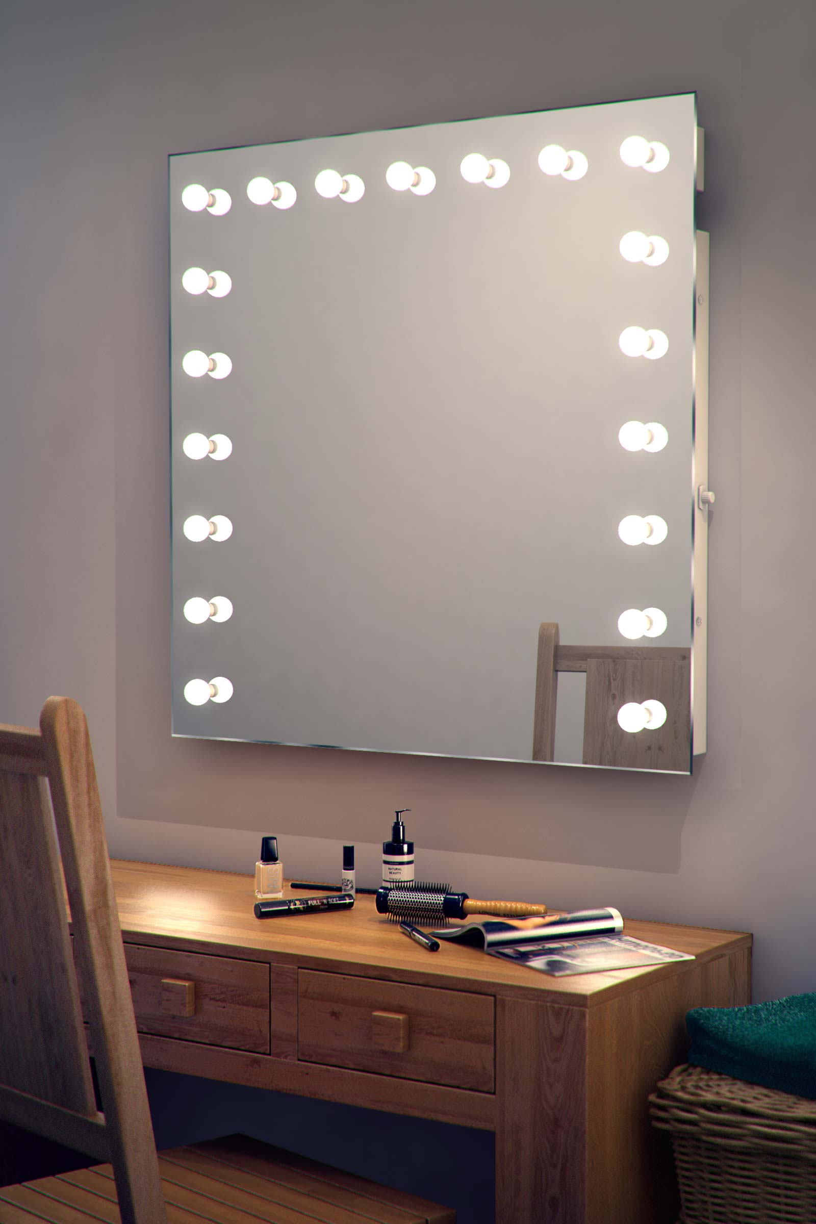 Hollywood Makeup Theatre Dressing Room Mirror K94