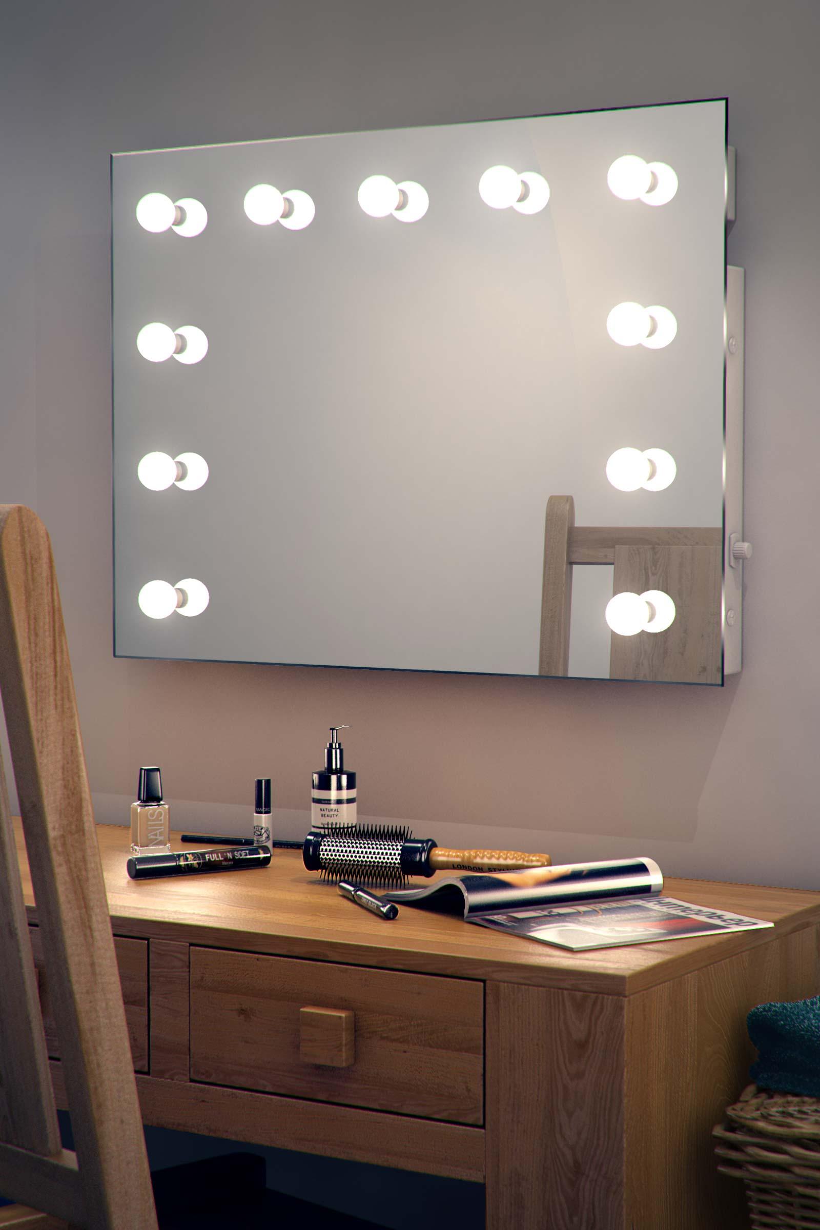 Hollywood Vanity Lights Nz : Hollywood Makeup Theatre Dressing Room Mirror K95