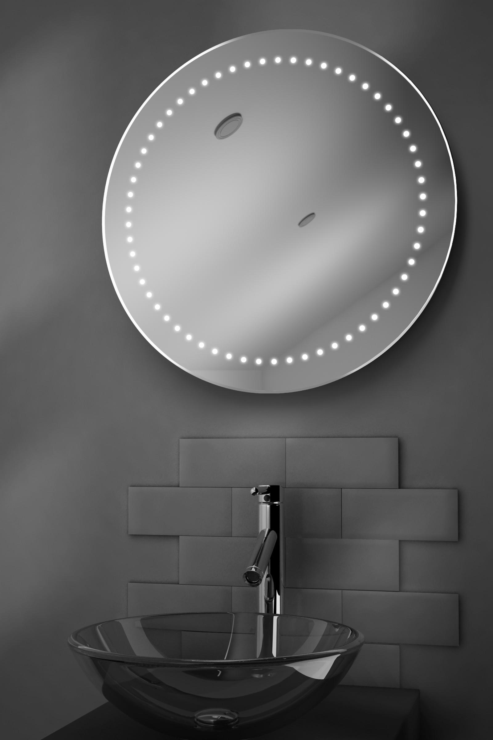 Specchio da bagno con illuminazione led a batteria e - Specchio con illuminazione led ...