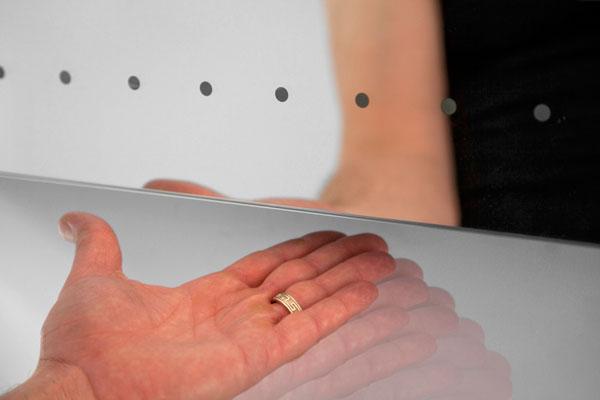 Iluminacion Baño Maquillaje:LED Bathroom Mirror Reflection Infinity Perfect