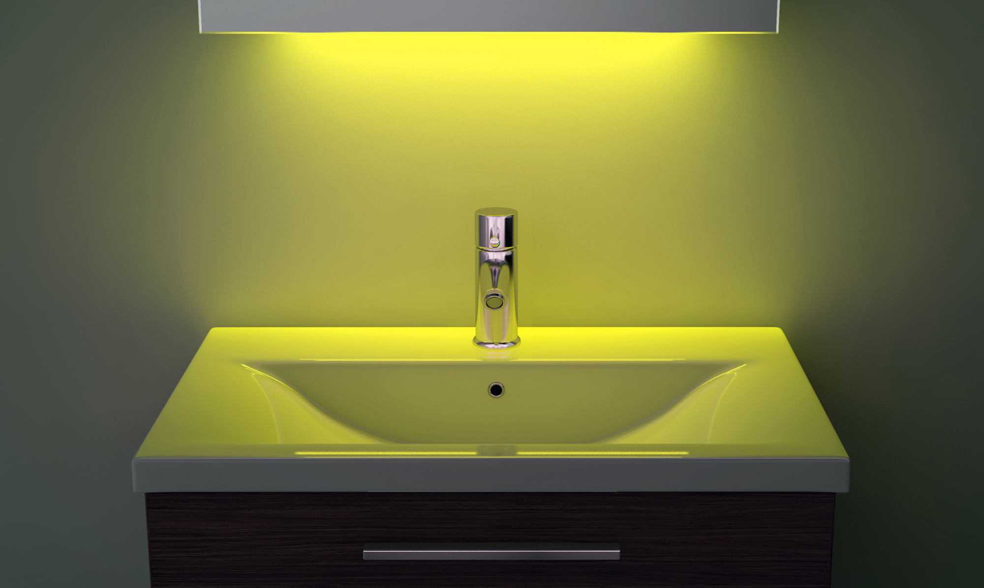 Digital Clock Shaver Bathroom Mirror With Under Lighting Demist Sensor K191y Ebay