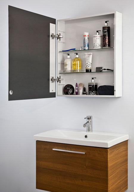 Armadietto specchio trittico bagno ~ Decora la tua vita