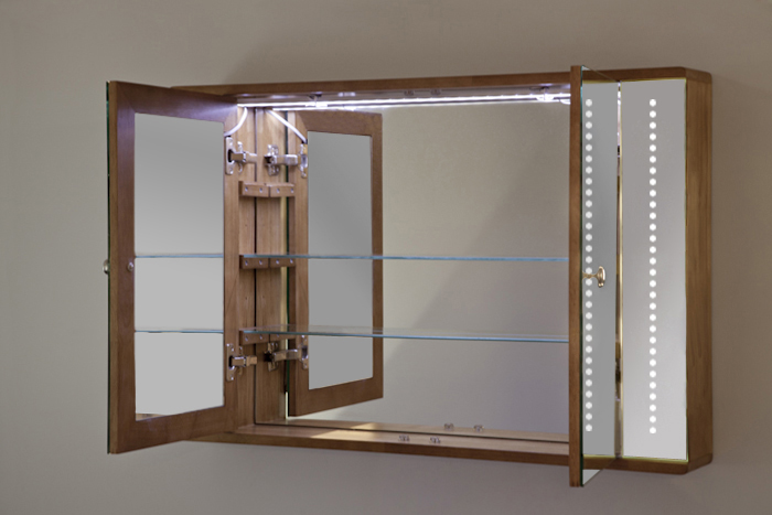 Bathroom Mirror Cabinet With Demister Pad