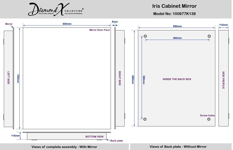 Demister Bathroom Mirrors Non Illuminated Bathroom Mirrors Uk Tomthetradercom