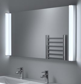 Bathroom mirrors led bathroom mirror with lights illuminated super bright aura aloadofball Choice Image
