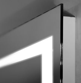 bathroom mirror with lighting. LED Bar Ultra Slim Bathroom Mirror With Lighting