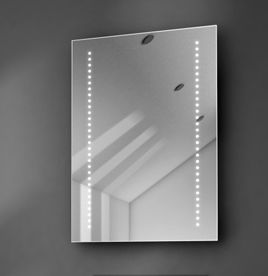 Battery & Bathroom Mirrors LED Bathroom Mirror with Lights - Illuminated ...
