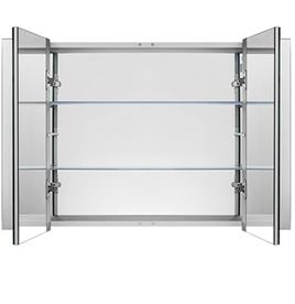 Illuminated Bathroom Cabinets Mirrored Cabinet With Led