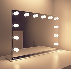 best sneakers 62dc6 a9886 Hollywood Mirror, Makeup Vanity Mirrors with Lights ...