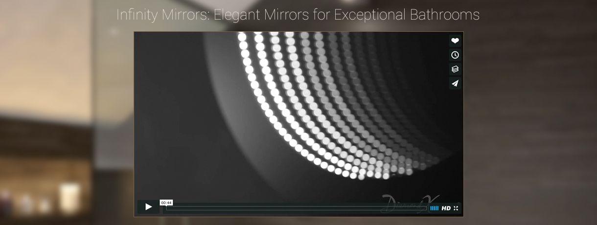 infinity mirror led infinity mirror illuminated mirrors uk bathroom mirror with backlight