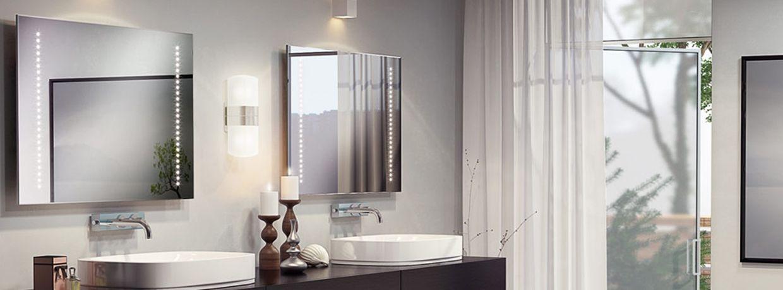 LED Battery Mirror Bathroom Mirrors