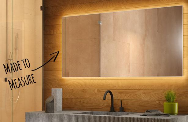 Bespoke Bathroom Mirrors Made To Measure Mirrors Illuminated Mirrors